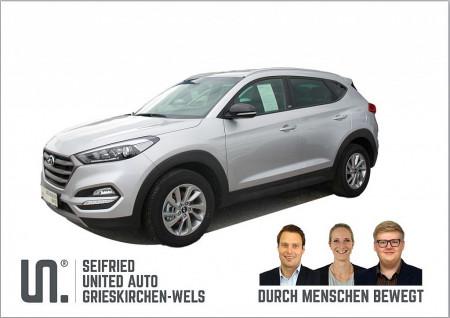 Hyundai Tucson 1,7 CRDI GO!*fixes Navi-kein anstecken am Handy** bei BM || Seifried United Auto Grieskirchen Wels in