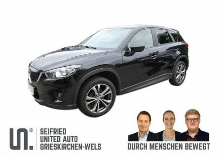 Mazda CX-5 CD150 AWD Attraction * AHK abnehmb.* 8-fach bereift* bei BM || Seifried United Auto Grieskirchen Wels in