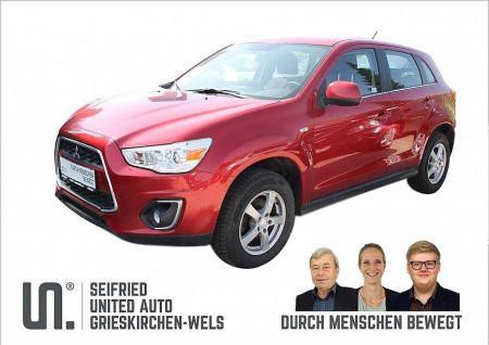 Mitsubishi ASX 1,8 DI-D Invite *Anhängerk*8-FACH BEREIFT*PDC* bei BM    Seifried United Auto Grieskirchen Wels in