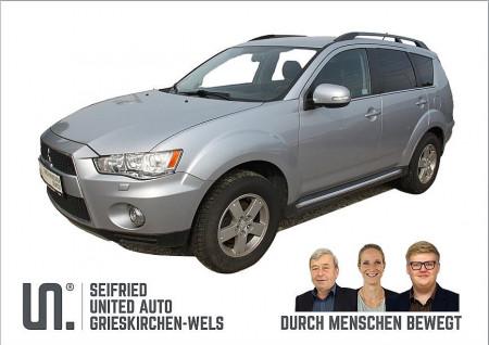 Mitsubishi Outlander 4WD 2,2 DI-D LP Austria Ed. *ALLRAD*STANDHZG.*XENON* bei BM    Seifried United Auto Grieskirchen Wels in