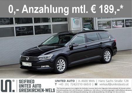 VW Passat Variant CL 1,6 TDI*Navi*LED*Anhängerk*App Connnect*uvm* bei BM    Seifried United Auto Grieskirchen Wels in