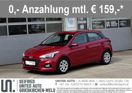 Hyundai i20 1,25 First Ed.2*Navi-App*Sitz+Lenkradheizung*Rückfahrk*uvm* First Edition 2 bei BM    Seifried United Auto Grieskirchen Wels in