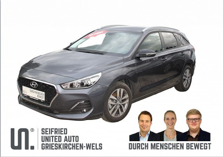 Hyundai i30 CW 1,0 T-GDI GO! *Navi*Rückfahrkamera* bei BM || Seifried United Auto Grieskirchen Wels in