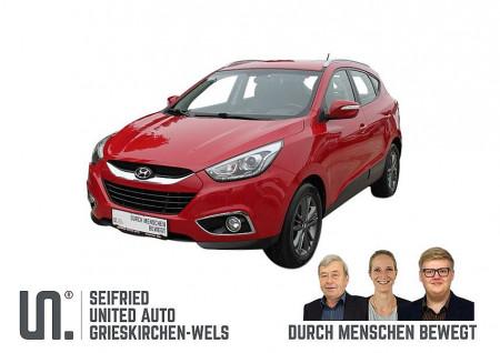 Hyundai iX35 1,7 CRDi GO * SR u. WR auf Alu * NW-GARANTIE bis 02/2020 bei BM || Seifried United Auto Grieskirchen Wels in