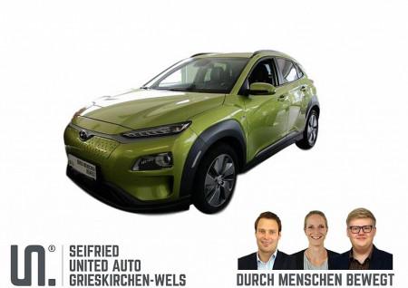 Hyundai Kona Elektro Level 5 * Leder * prompt verfügbar bei BM || Seifried United Auto Grieskirchen Wels in