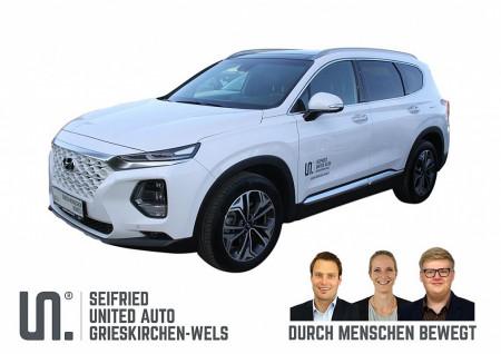 Hyundai Santa Fe 2,0 CRDi 4WD Level 6 Aut. ** 7-Sitzer ** bei BM || Seifried United Auto Grieskirchen Wels in