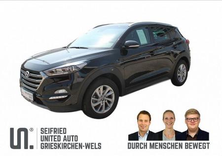 Hyundai Tucson 1,7 CRDI Safty * Quer * Totwinkel * Anhängervorrichtung bei BM || Seifried United Auto Grieskirchen Wels in