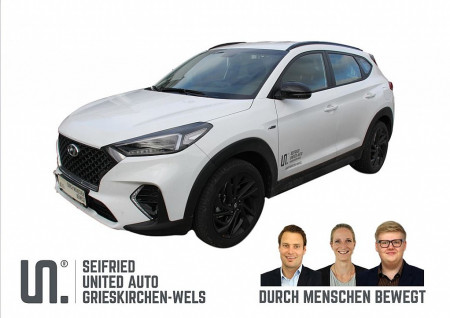 Hyundai Tucson N-Line 1,6 CRDi 2WD MT **Veloursleder** bei BM || Seifried United Auto Grieskirchen Wels in