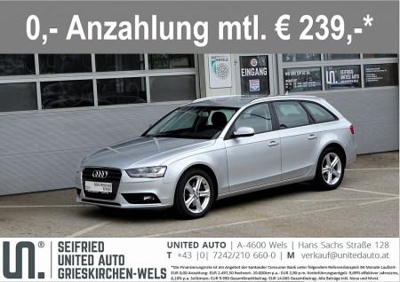 Audi A4 Avant 2,0 TDI DPF Aut.*Navi*Sportsitze*Soundsystem*PDCplus*uvm* bei BM || Seifried United Auto Grieskirchen Wels in