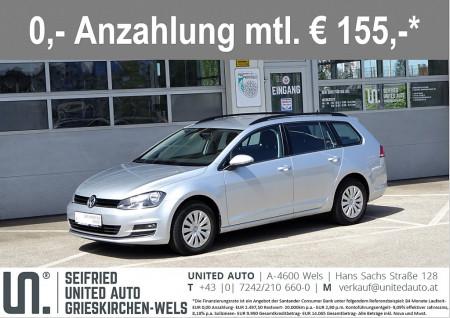 VW Golf Variant CL 1,6 TDI DSG*NAVI*Winterpaket*8-fach Bereift* Comfortline bei BM    Seifried United Auto Grieskirchen Wels in