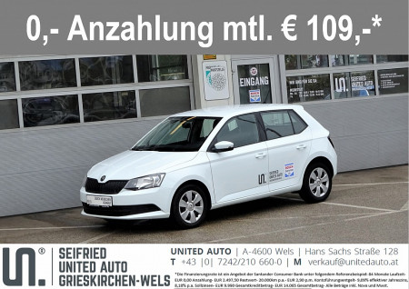 Skoda Fabia Act. 1,0*Klima*Touchscreen*8-fach Bereift* bei BM || Seifried United Auto Grieskirchen Wels in