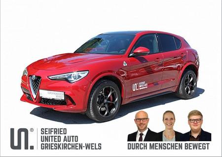 Alfa Romeo Stelvio Quadrifoglio 2,9 V6 ATX AWD bei BM || Seifried United Auto Grieskirchen Wels in