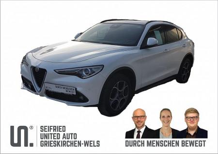 Alfa Romeo Stelvio Super 2,2 ATX AWD *SPORT*PANOROMA* bei BM || Seifried United Auto Grieskirchen Wels in