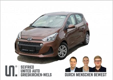 Hyundai i10 1,0 Level 2 bei BM    Seifried United Auto Grieskirchen Wels in