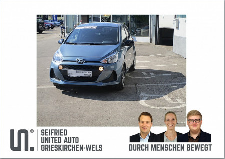 Hyundai i10 1,0 Level 2 Plus bei BM    Seifried United Auto Grieskirchen Wels in