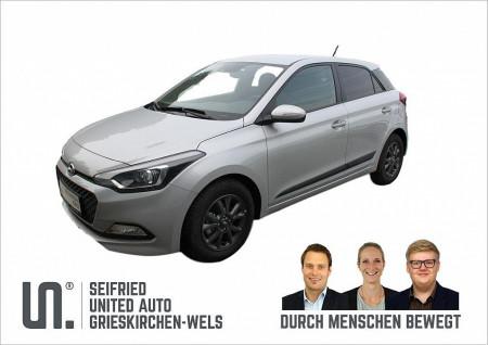 Hyundai i20 1,25 Edition 84 PS Tageszulassung bei BM    Seifried United Auto Grieskirchen Wels in