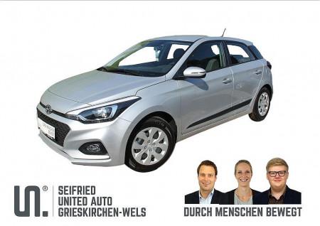 Hyundai i20 1,25 First Edition 2 Navi-App, 84 PS *Lenkrad- u. Sitzheizung* bei BM    Seifried United Auto Grieskirchen Wels in