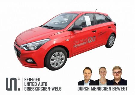 Hyundai i20 1,25 Level 1 – 75 PS * Radio * Klima * bei BM    Seifried United Auto Grieskirchen Wels in