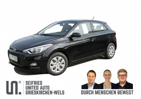 Hyundai i20 1,25 Level 2 – 75 PS *nur €119,- mtl.* bei BM    Seifried United Auto Grieskirchen Wels in