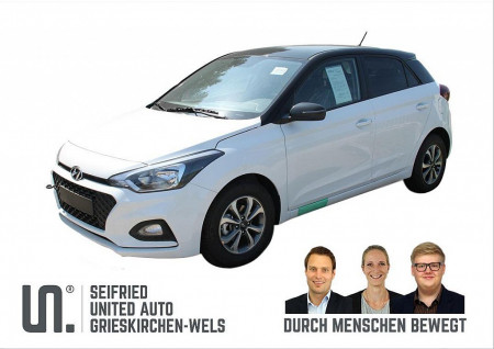 Hyundai i20 1,25 Level 2 Plus 75 PS  Black Roof bei BM || Seifried United Auto Grieskirchen Wels in
