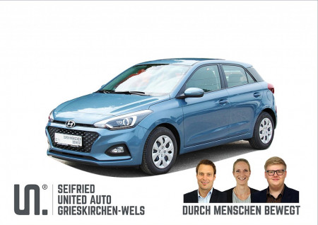 Hyundai i20 1,25 Level 2 Plus 75 PS *nur 134,- mtl.* bei BM || Seifried United Auto Grieskirchen Wels in