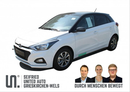 Hyundai i20 1,25 Level 2 Plus 84 PS Black Roof bei BM || Seifried United Auto Grieskirchen Wels in