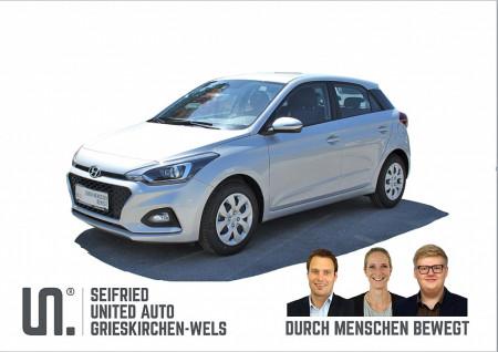Hyundai i20 1,25 Level 3  Winter-Navi Edition, 84 PS, Rückfahrkamera, beheizb. Lenkr., Sitzheizg., Einparkhilfe hinten bei BM    Seifried United Auto Grieskirchen Wels in
