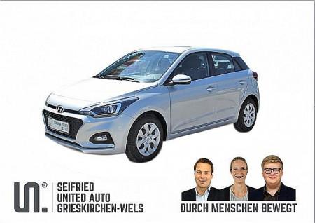 Hyundai i20 1,25 Level 3 Winter-Navi Edition, 75 PS, * nur € 138,- mtl* Rückfahrkamera, beheizb. Lenkr., Sitzheizg., Einparkhilfe hinten bei BM    Seifried United Auto Grieskirchen Wels in