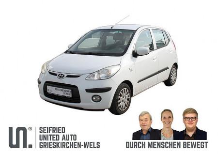 Hyundai i10 1,1 MPI KLIMA * Sommer- u. Winterreifen * gepflegt * bei BM || Seifried United Auto Grieskirchen Wels in