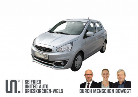 Mitsubishi Space Star 1,0 MIVEC Inform AS&G ** KLIMA ** CD-RADIO ** bei BM || Seifried United Auto Grieskirchen Wels in
