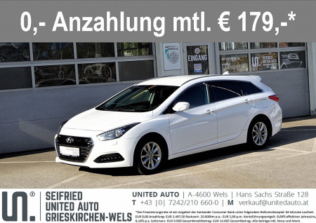 Hyundai i40 BC.Pl.1,7 CRDi DCT*Navi*Xenon*Rückfahrk*Keyless*uvm* Business Class Plus bei BM || Seifried United Auto Grieskirchen Wels in