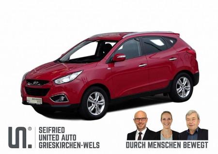 Hyundai iX35 1,7 CRDi UpGrade*Navi*Keyless*8-fachAlu*Teilleder*uvm bei BM || Seifried United Auto Grieskirchen Wels in