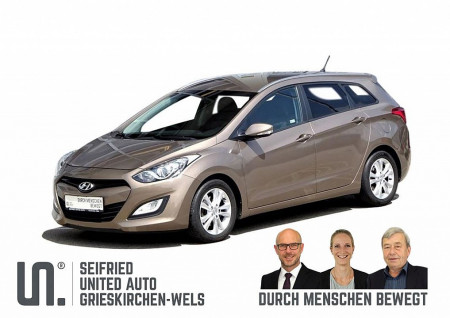 Hyundai i30 CW 1,4 CRDi Europ+*Alu*Sitzheizung*get-Scheiben*Kurvenlicht*uvm* DPF bei BM || Seifried United Auto Grieskirchen Wels in