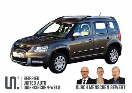 Skoda Yeti Outdoor Elegance 1,2 TSI*Navi*Anhängerk-abnehmb*uvm bei BM || Seifried United Auto Grieskirchen Wels in