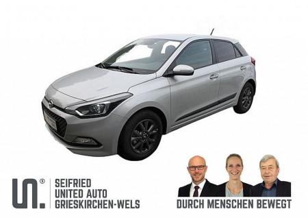 Hyundai i20 1,25 Edition 84 PS Tageszulassung bei BM || Seifried United Auto Grieskirchen Wels in