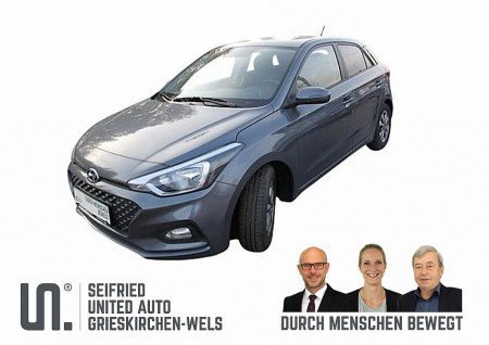 Hyundai i20 1,25 Level 2 Plus 75 PS *nur 127,- mtl.* bei BM || Seifried United Auto Grieskirchen Wels in