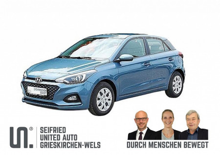 Hyundai i20 1,25 Level 2 Plus 75 PS *nur 129,- mtl.* bei BM || Seifried United Auto Grieskirchen Wels in