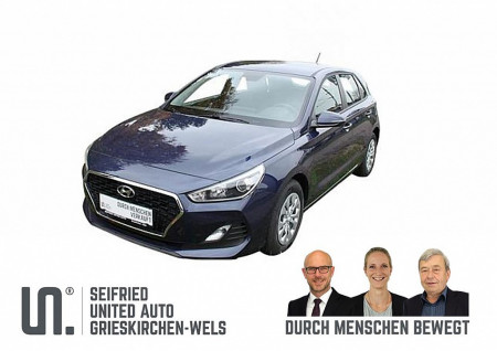 Hyundai i30 1,4 MPI Entry mtl. ab € 138,- bei BM || Seifried United Auto Grieskirchen Wels in