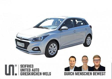 Hyundai i20 1,25 Level 3  Winter-Navi Edition, 84 PS, Rückfahrkamera, beheizb. Lenkr., Sitzheizg., Einparkhilfe hinten bei BM || Seifried United Auto Grieskirchen Wels in