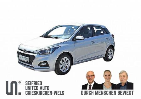 Hyundai i20 1,25 Level 3  Winter-Navi Edition,  75 PS, * nur € 138,- mtl. * Rückfahrkamera, beheizb. Lenkr., Sitzheizg., Einparkhilfe hinten bei BM || Seifried United Auto Grieskirchen Wels in
