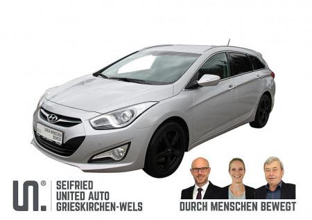 Hyundai i40 Premium 1,7 CRDi DPF Aut. 8-fach bereift bei BM || Seifried United Auto Grieskirchen Wels in