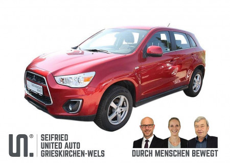 Mitsubishi ASX 1,8 DI-D Invite *Anhängerk*8-FACH BEREIFT*PDC* bei BM || Seifried United Auto Grieskirchen Wels in