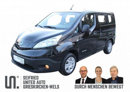 Nissan NV200 Elektro Kombi Prem. inkl. Batt. – vorsteuerabzugsfähig * WR Stahl * SR lose bei BM || Seifried United Auto Grieskirchen Wels in
