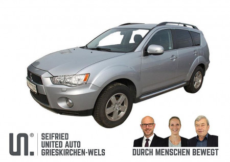 Mitsubishi Outlander 4WD 2,2 DI-D LP Austria Ed. *ALLRAD*STANDHZG.*XENON* bei BM || Seifried United Auto Grieskirchen Wels in