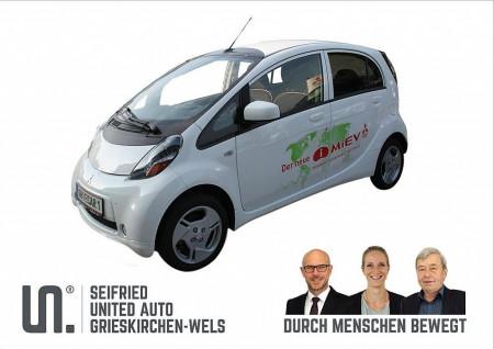 Mitsubishi iMiEV Elektro (inkl. Batterie) vorsteuerabzusfähig * 0% Sachbezug bei BM || Seifried United Auto Grieskirchen Wels in