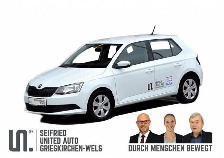 Skoda Fabia Act. 1,0*Klima*Touchscreen*8-fach Bereift* bei BM    Seifried United Auto Grieskirchen Wels in