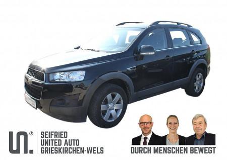 Chevrolet Captiva LT 2,2 2WD *Erstbesitz*AHK* keine Anzahlung € 175,- mtl. bei BM    Seifried United Auto Grieskirchen Wels in