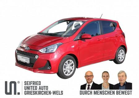 Hyundai i10 1,0 Edition 25 *Tempomat*Freisprech*8-fach bereift bei BM    Seifried United Auto Grieskirchen Wels in