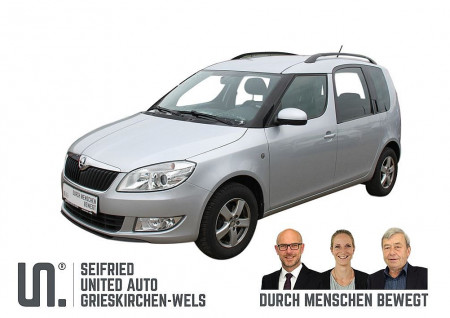 Skoda Roomster Ambition+ TSI *AHK abnehmbar*8-fach bereift* bei BM    Seifried United Auto Grieskirchen Wels in