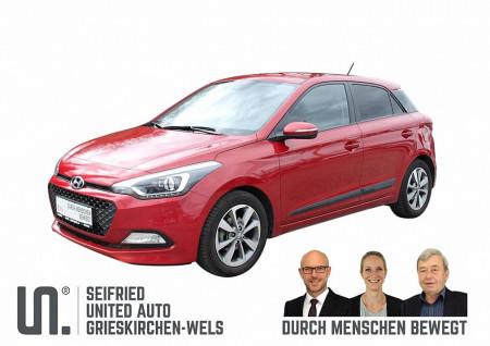 Hyundai i20 1,25 Premium * 84 PS * Klimaautomatik bei BM    Seifried United Auto Grieskirchen Wels in